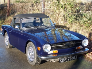 TR6 front right